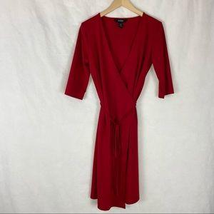 Express Wrap Dress Size 7/8